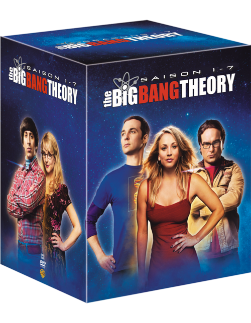 COFFRET THE BIG BANG THEORY