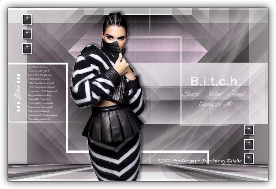 K@D's Psps Designs ~ B.i.t.c.h.