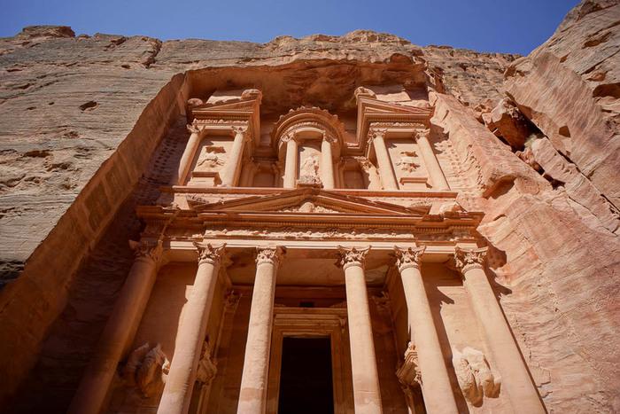 Al-Khazneh à Petra, Jordanie