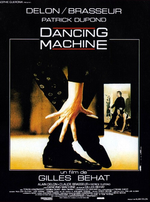 DANCING MACHINE -  ALAIN DELON BOX OFFICE 1990