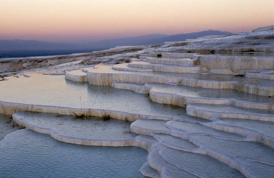 piscines calcaires de pamukkale turquie