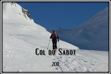 Au Col du Sabot dans les Grandes Rousses
