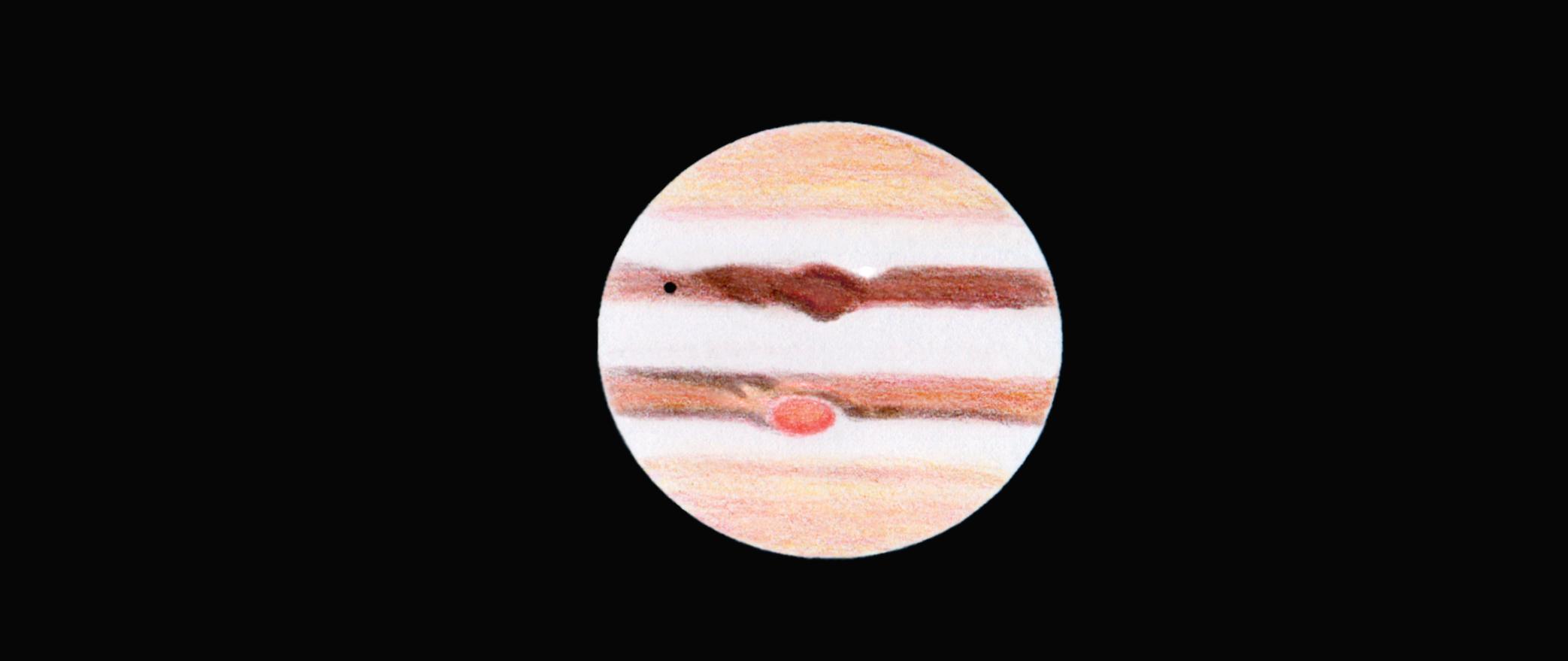 Jupiter le 2 juillet 2016