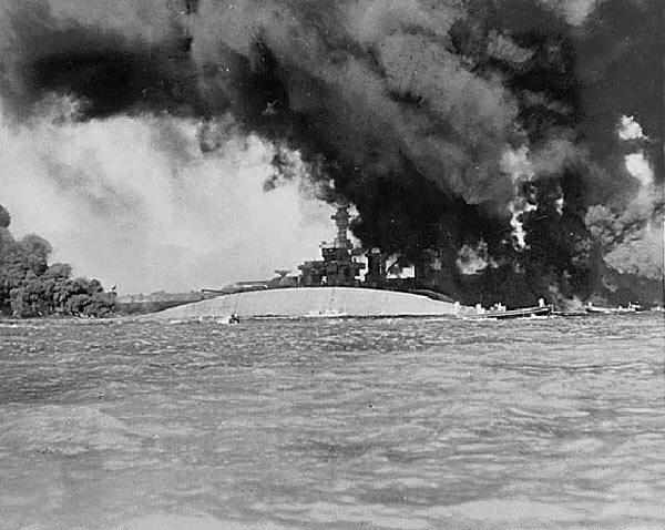 Pearl Harbor: USS Oklahoma.
