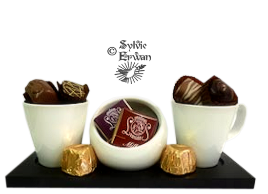 Tubes chocolats création 1