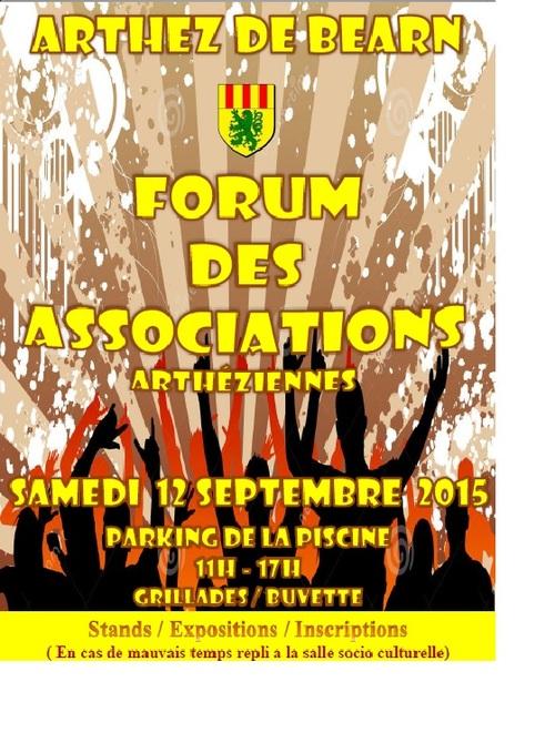 forum des association samedi 12 Septembre 2015