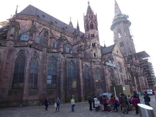 Freiburg ou Fribourg (2) Allemagne, fév 2017