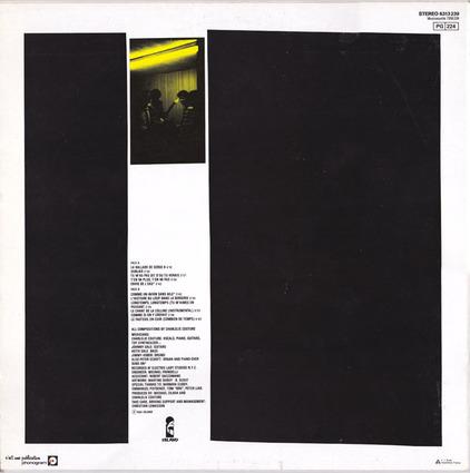 Ze Frenche ouique - Jour 4 - Charlélie Couture - Poèmes Rock (1981) + Bobino 1982
