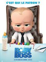 Baby Boss : C'est toujours un choc de voir ses parents rentrer à la maison avec un bébé dans les bras – surtout quand il porte une cravate, qu'il se balade avec un attaché-case et qu'il a la voix d'un quinquagénaire !  Si Tim, 7 ans, ne voit pas d'un très bon œil ce «Baby Boss» débarquer chez lui, il découvre qu'il a en réalité affaire à un espion et que lui seul peut l'aider à accomplir sa mission ultra secrète…  Car Baby Boss se prépare à un affrontement titanesque entre les bébés et…. les toutous, charmants petits chiots qui vont bientôt être vendus pour remplacer les bébés dans le cœur des parents ! ... ----- ... Origine : américain  Réalisation : Tom McGrath  Durée : 1h 38min  Acteur(s) : Stefan Godin,Vincent Ropion,Laurent Maurel  Genre : Animation,Comédie  Date de sortie : 29 mars 2017  Critiques Spectateurs : 3.7  Titre original : The Boss Baby