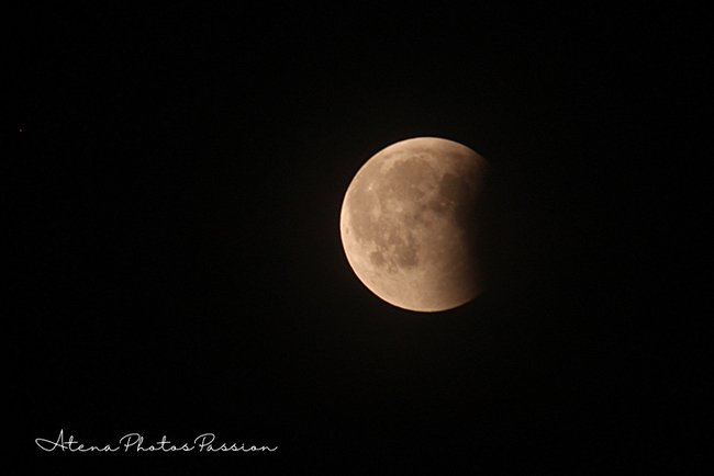 Eclipse de lune 2018