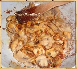 Aiguillettes de Canard à la Crème et aux Champignons
