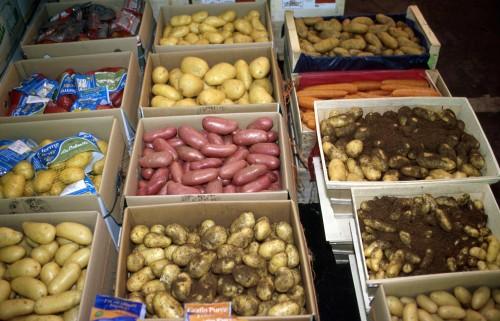 Vertus médicinales des légumes et des fruits : POMME DE TERRE