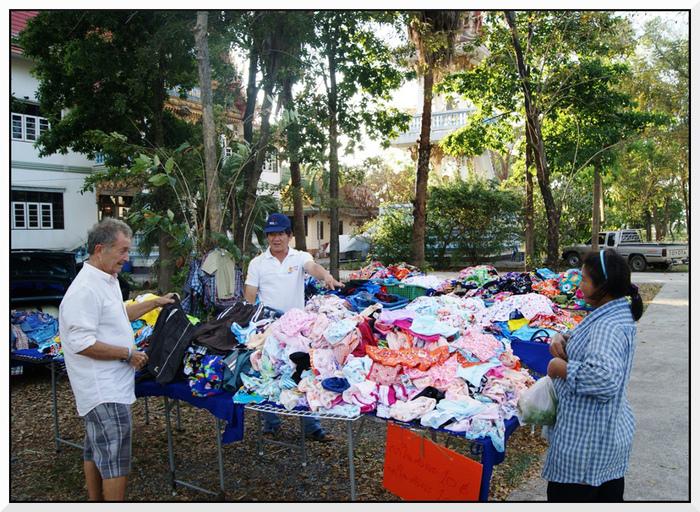 Le marché de Bang Khla en Thaïlande