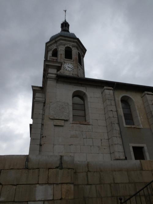 L'église de Cormaranche-en-Bugey