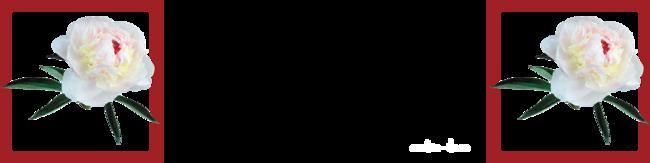 design pivoine ou glycine au choix