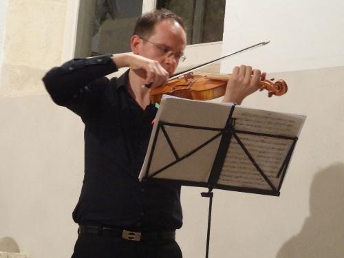 """""""Les goûts réunis"""" , un très beau concert proposé par  """"la semaine de Saint Vorles"""", dans l'église de Faverolles les Lucey"""