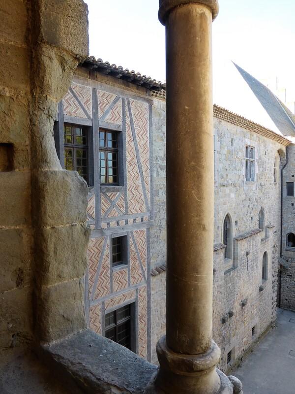Carcassonne : balade dans le château.