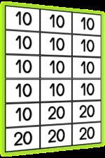 La cible : réaliser des sommes pour atteindre un nombre cible