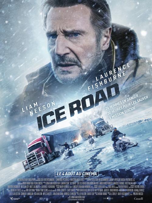 Découvrez 2 extraits de ICE ROAD avec Liam Neeson et Laurence Fishburne - Le 4 août 2021 au cinéma