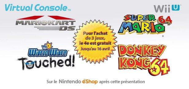 [ND] Les jeux Nintendo 64 et Nintendo DS maintenant sur le eShop Wii U