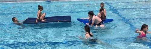 Sorties piscine - juin 2016