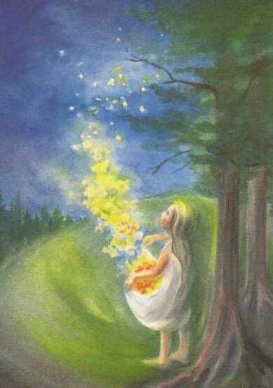 En terre d'enfance: Maria Montessori, l'imagination et les contes
