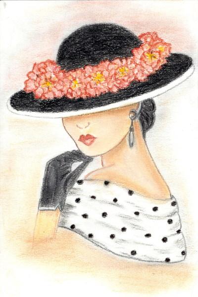 Blog de chouquette :dessins et chant chorale, sous son chapeau