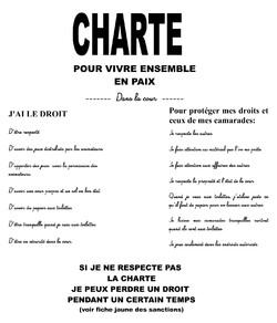 Charte cour de récréation déc 2013
