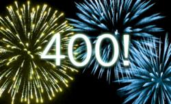 Merci aux 400 visiteurs !!!