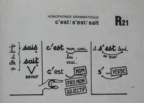 A / Les homophones de [sɛ]