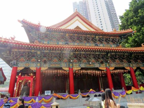 Chi Lin Nunnery Hong Kong - 5éme journée