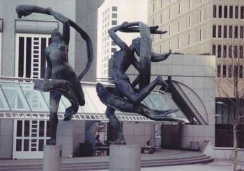 Ballet Olympia Sculpture at Suntrust Plaza-M