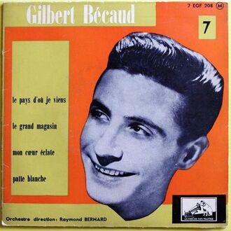 Gilbert Bécaud, 1956