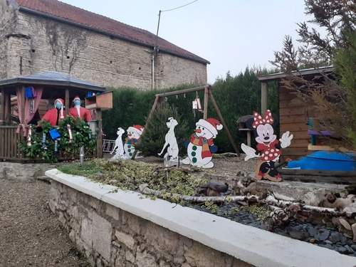 Décoration du village. 2020