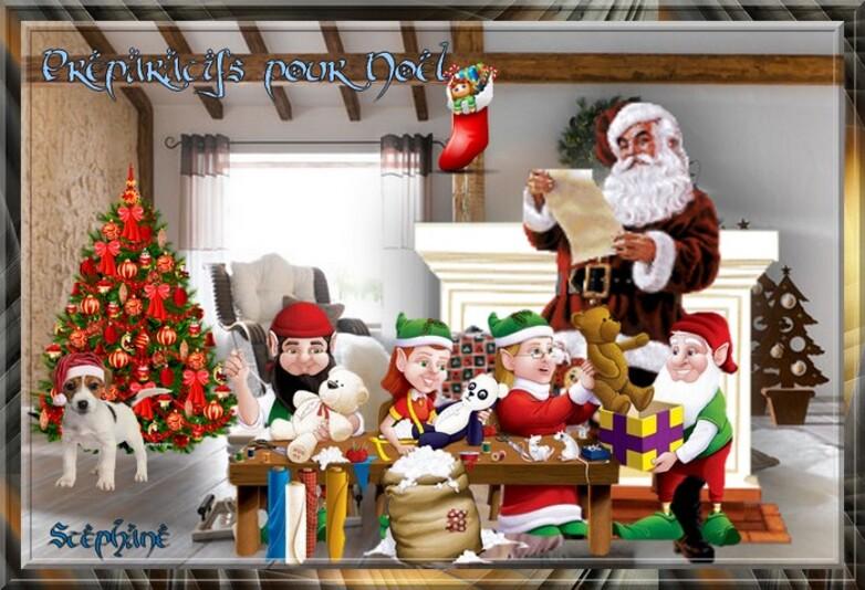Les préparations de Noël ! fée capucine ,
