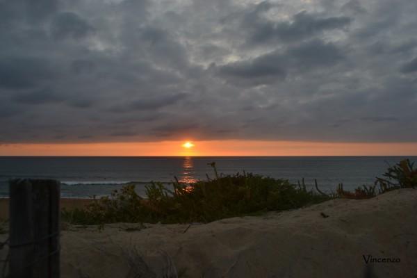 ONDRES coucher de soleil B