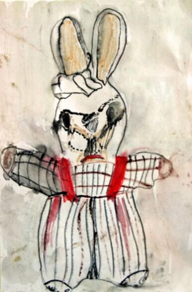 Des lapins en dessin