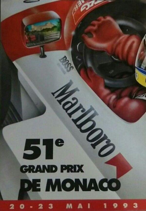 GP automobile de Monaco ( 1990-1999 )