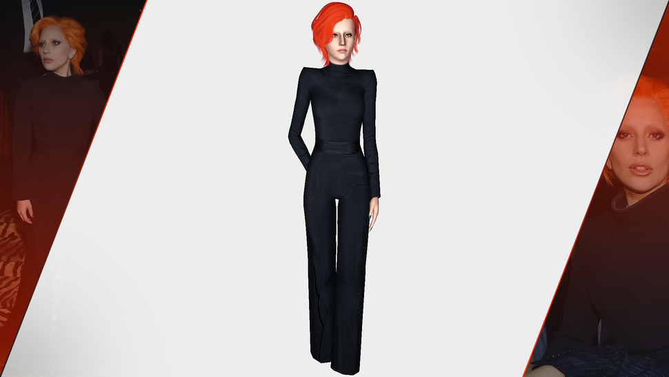BRANDON MAXWELL 2016 BLACK TURTLENECK OUTFIT