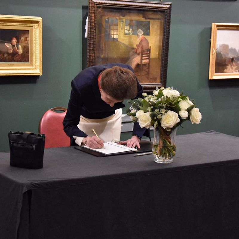 City of London Book of Condolence at Guildhall Art Gallery.