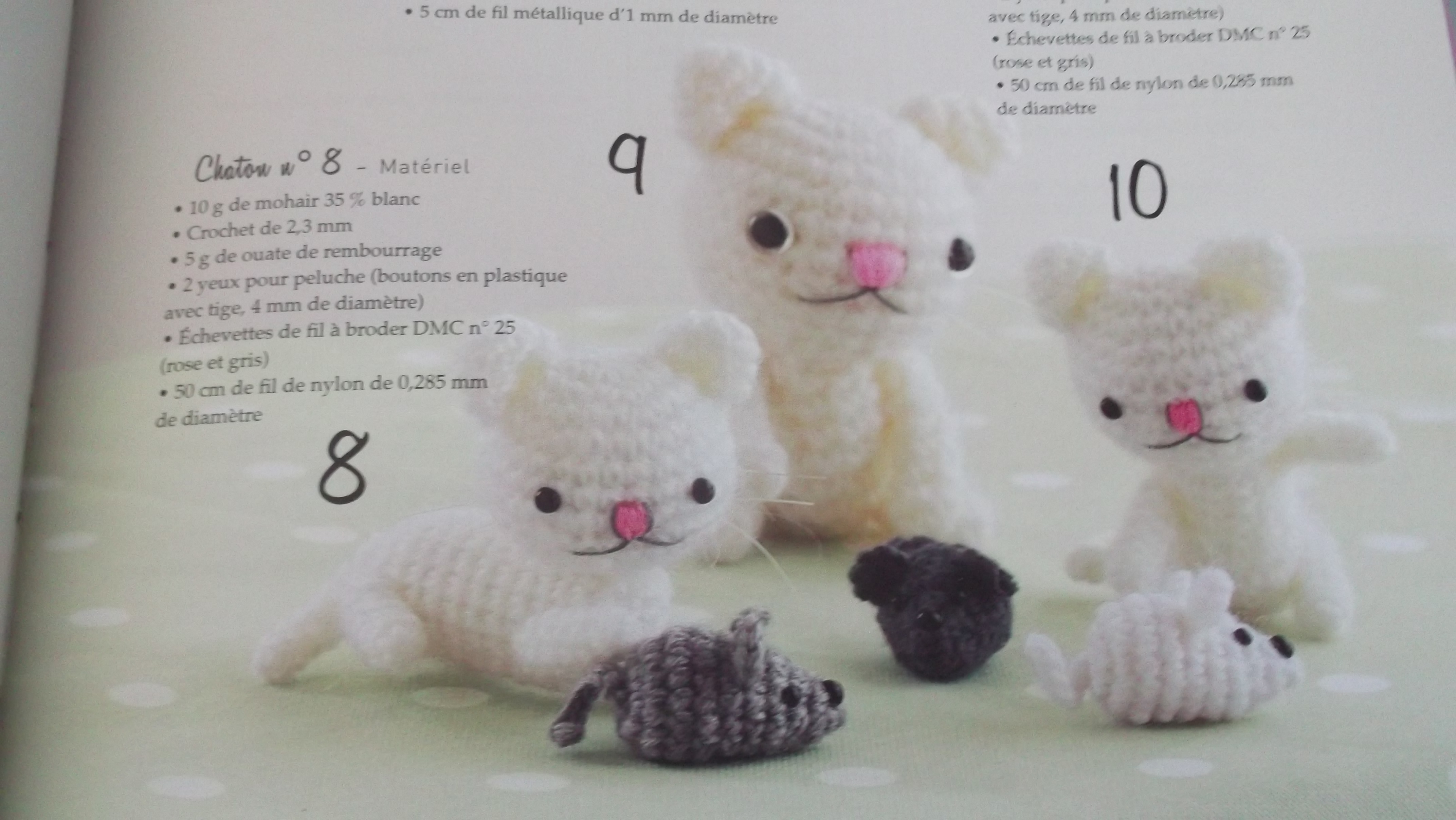 Chats au crochet for Qui portent des crochets