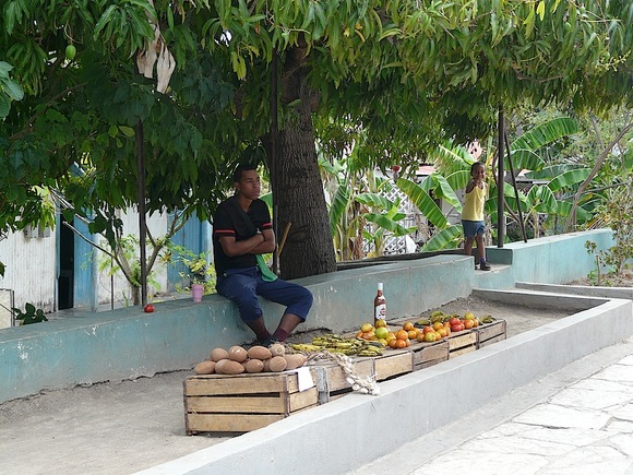 les petites échoppes de rue à Cuba