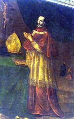 Saint Alphonse Turibe de Mogrovejo. Archevêque de Lima († 1606)