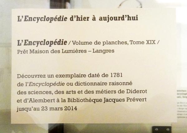 """""""Lumières, l'encyclopédie revisitée"""", une magnifique exposition à Montbard, en hommage au travail de Diderot"""