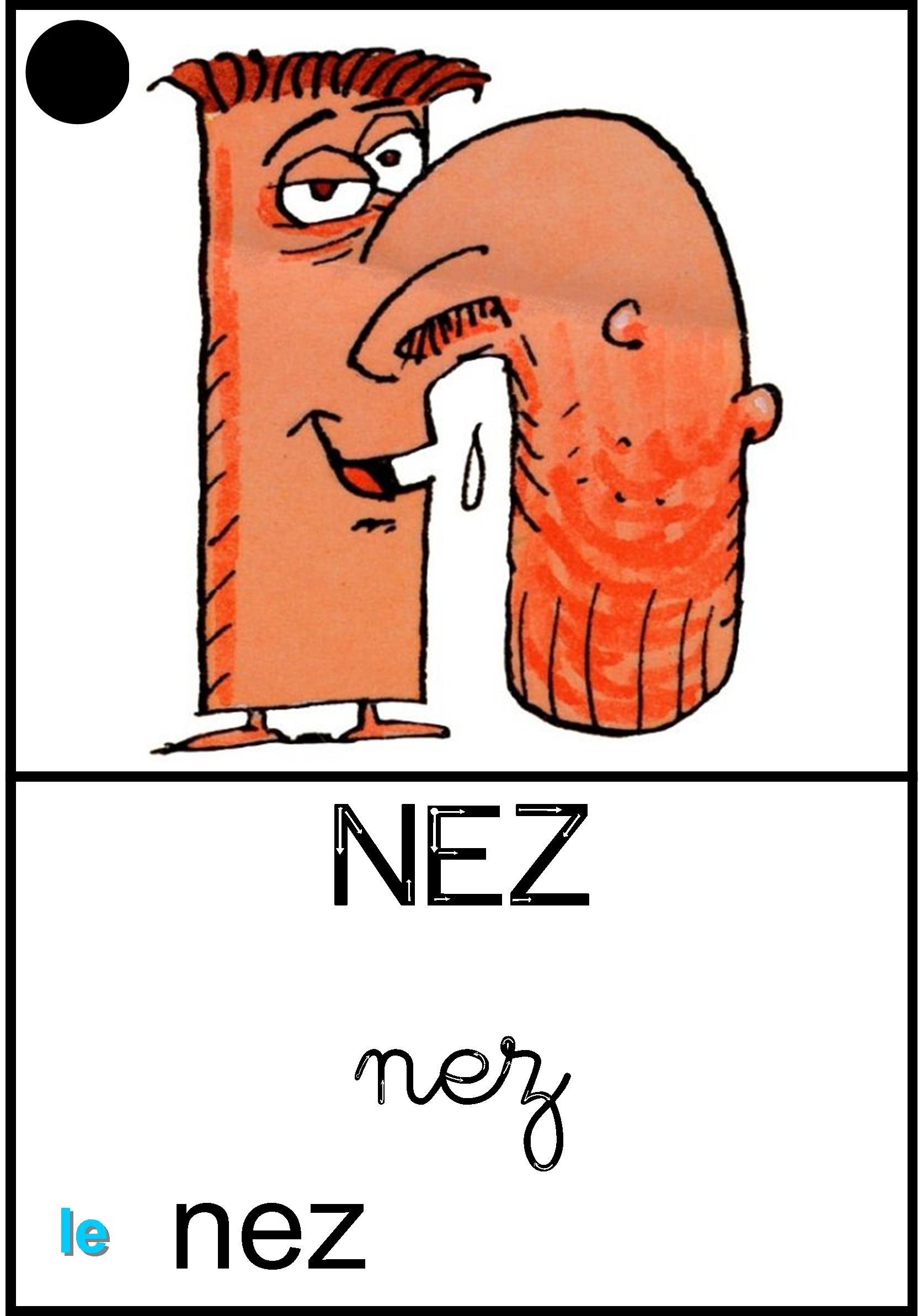 Affichage Le nez