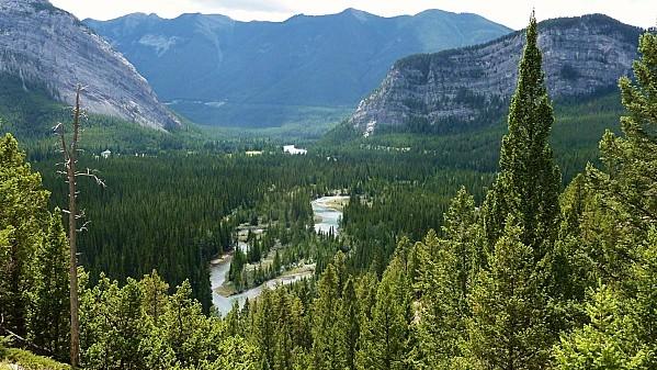 Jour 16 Banff vue sur rivière Bow 2 (2)