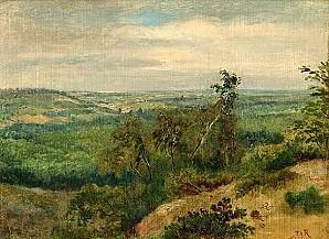 Theodore Rousseau Valee de la Seine
