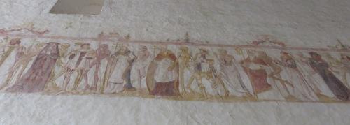 L'église de la Ferté Loupière (Yonne, la danse macabre