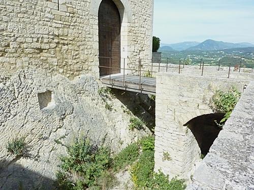 26 juin 2015 - Sur la route entre Beaumes de Venise et Vaison la Romaine - Les dentelles de Montmirail