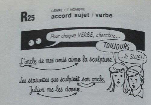 F / Accord du verbe avec le sujet